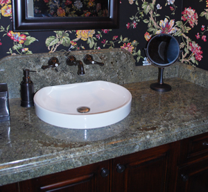granite countertops and bathrooms , kitchens